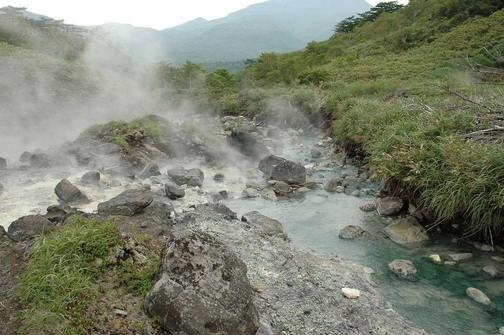 Baranskiy volcano, Iturup