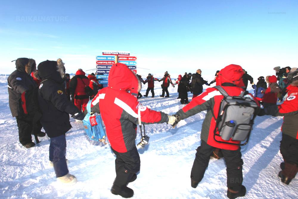 Полет на Северный полюс