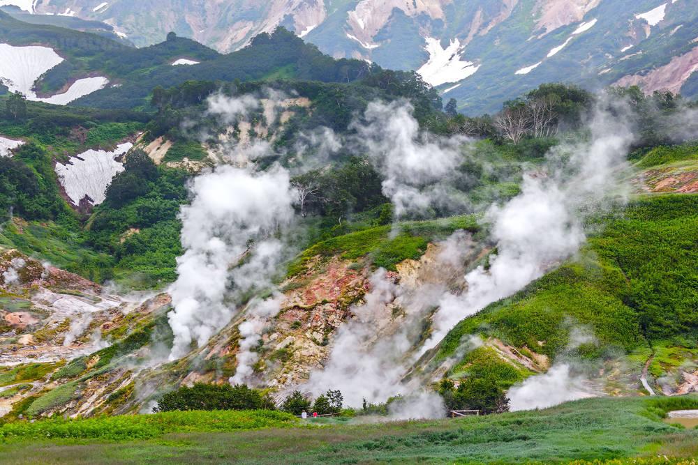Легендарная долина гейзеров. Камчатка.