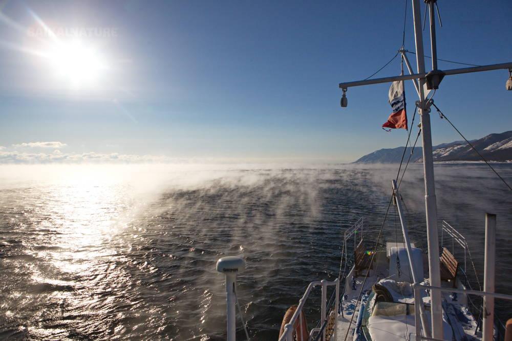 Baïkal en janvier