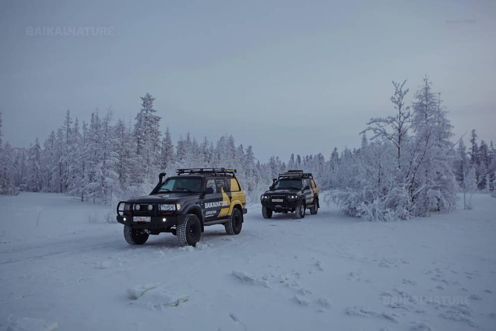 Ancienne Routes des Os en hiver