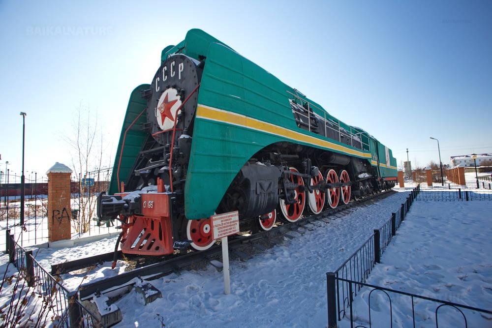 Locomotive. Sévérobaïkalsk
