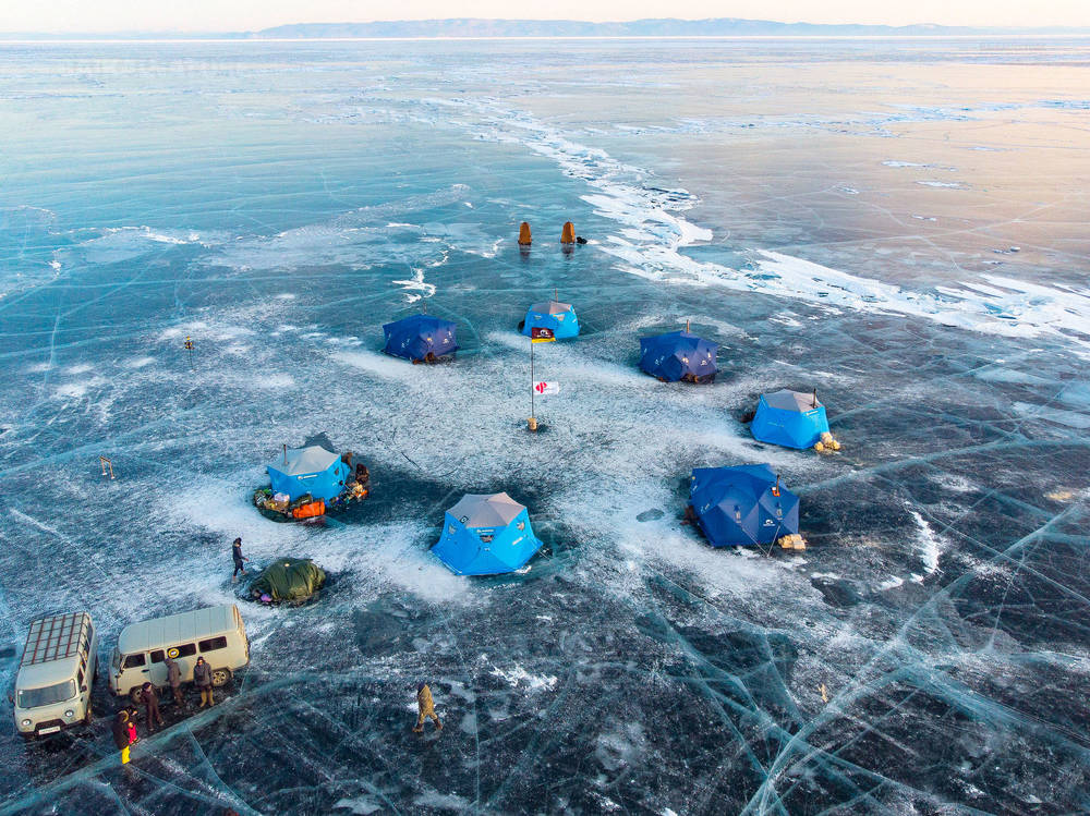 Camps de glace Baikal Ice Camp